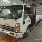 Установка тахографа Атол Drive Smart с СКЗИ на бортовой грузовик JAC
