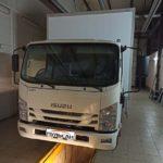 Установка тахографа Атол Drive Smart с СКЗИ на фургон ISUZU ELF