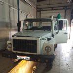 Установка тахографа Атол Drive Smart с СКЗИ на грузовик ГАЗон