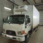 Установка тахографа «Атол Drive 5» с СКЗИ на грузовой фургон Hyundai HD35City
